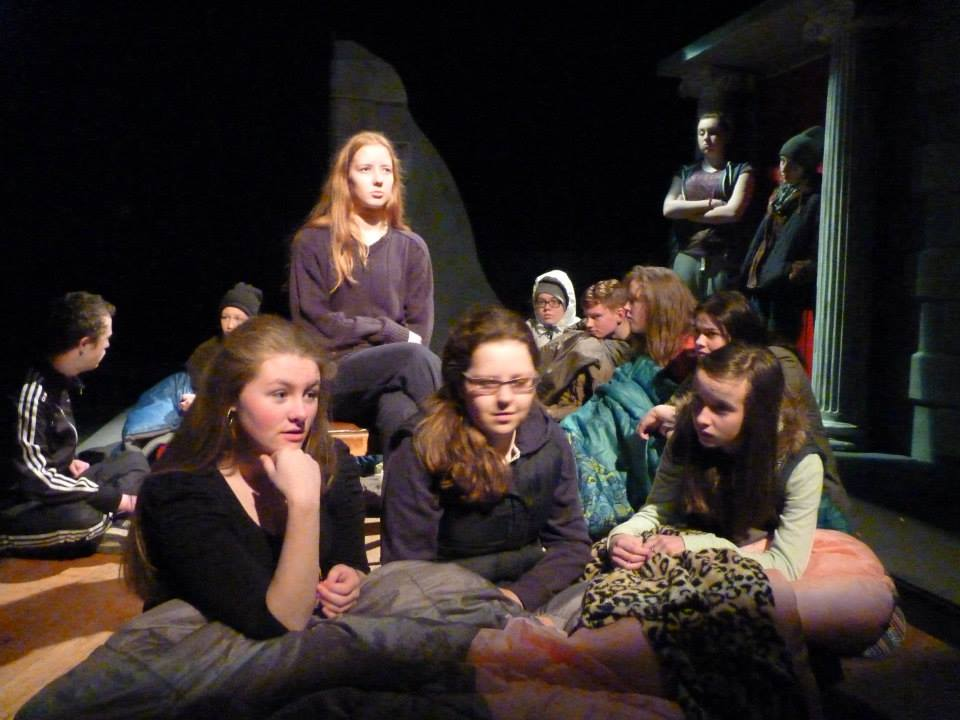 Shelter by Simon Bent   Gonzo Youth Theatre   Cavan