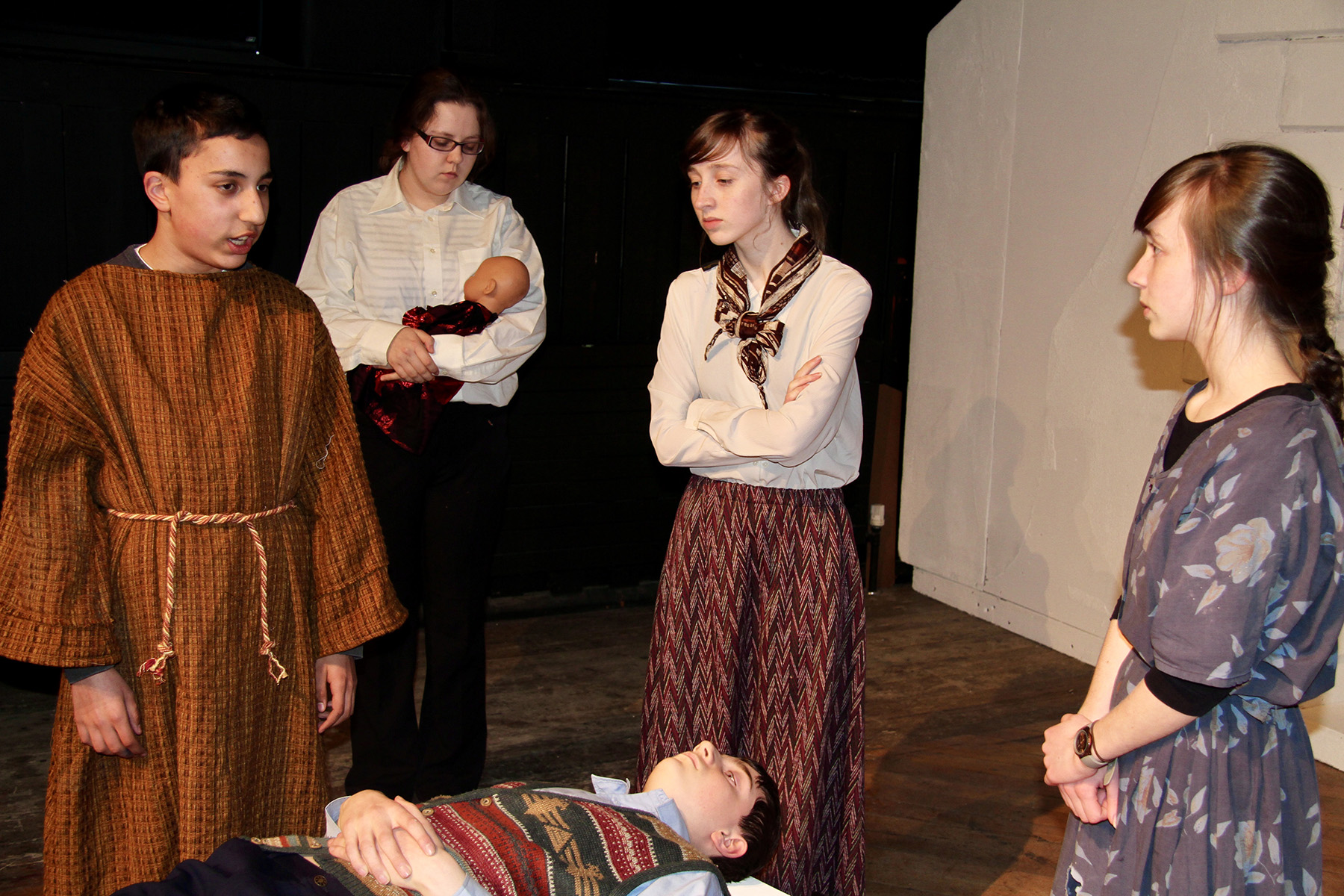 The Caucasian Chalk Circle | Gonzo Youth Theatre