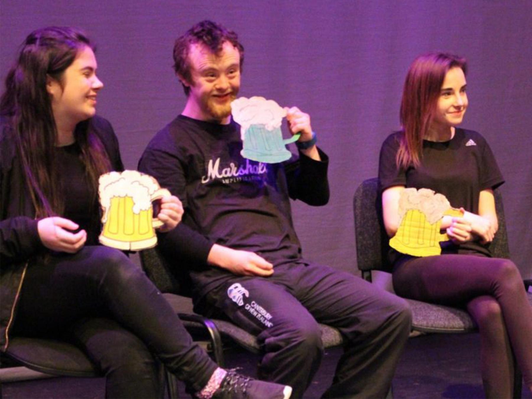 Scholarship | Gonzo Youth Theatre | Homebird Design